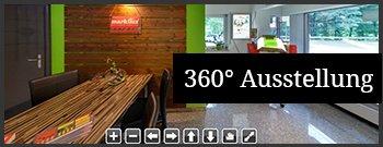 360� Rundblick in unseren Verkaufsraum